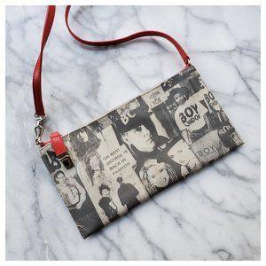 Sydney Love 80's Punk Boy George Crossbody Bag